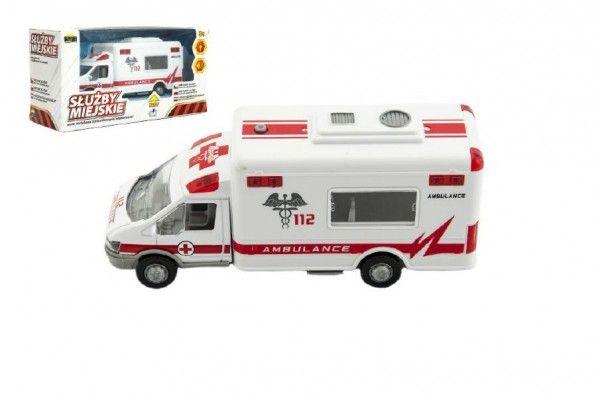 Auto ambulance - 19x10x7 cm