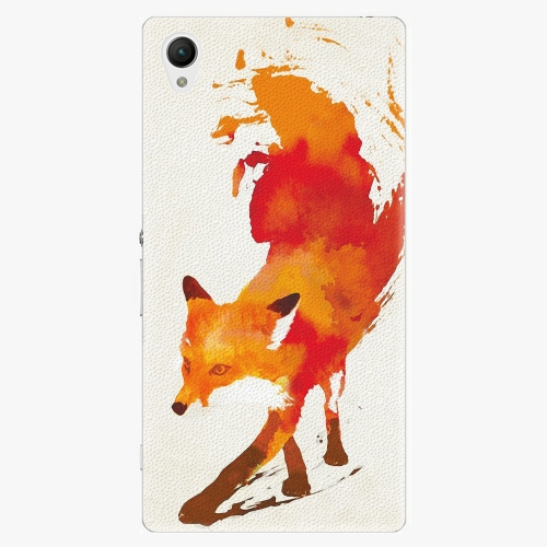 Plastový kryt iSaprio - Fast Fox - Sony Xperia Z1