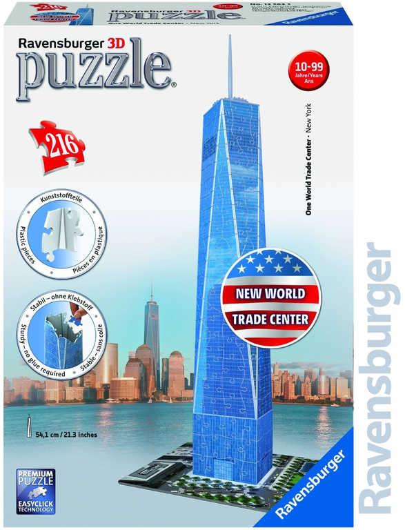 RAVENSBURGER Puzzle 3D New World Trade Center 216 dílků