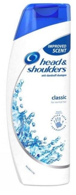 Head & Shoulders Classic Clean šampon proti lupům, 200 ml