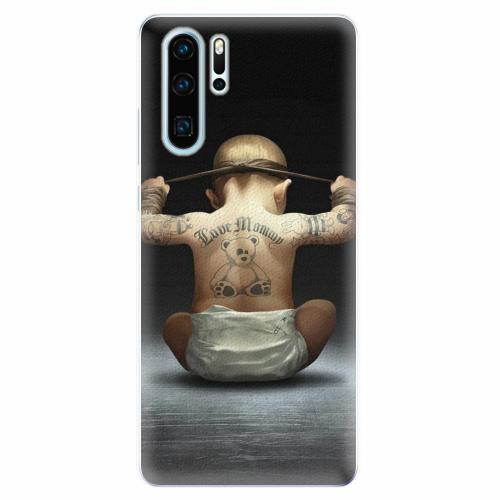 Silikonové pouzdro iSaprio - Crazy Baby - Huawei P30 Pro