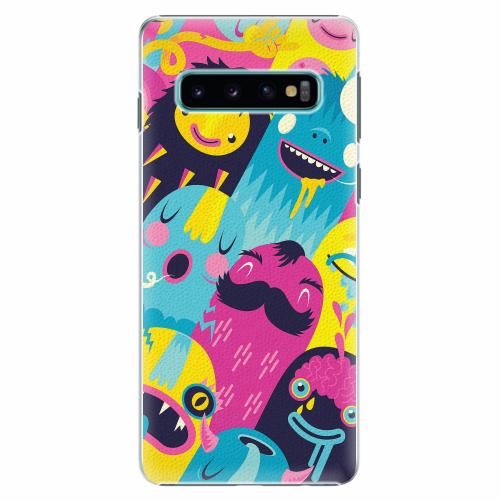Plastový kryt iSaprio - Monsters - Samsung Galaxy S10