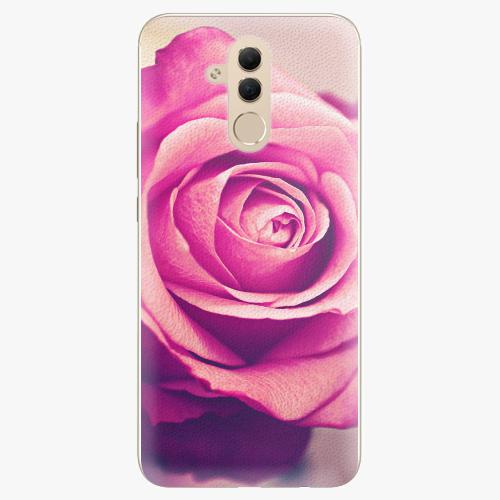 Plastový kryt iSaprio - Pink Rose - Huawei Mate 20 Lite