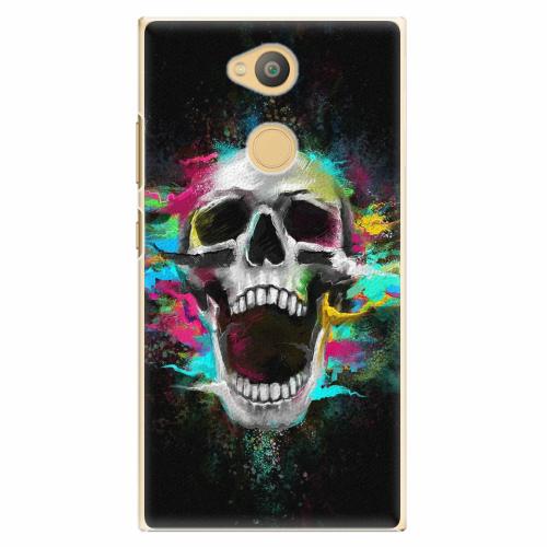 Plastový kryt iSaprio - Skull in Colors - Sony Xperia L2