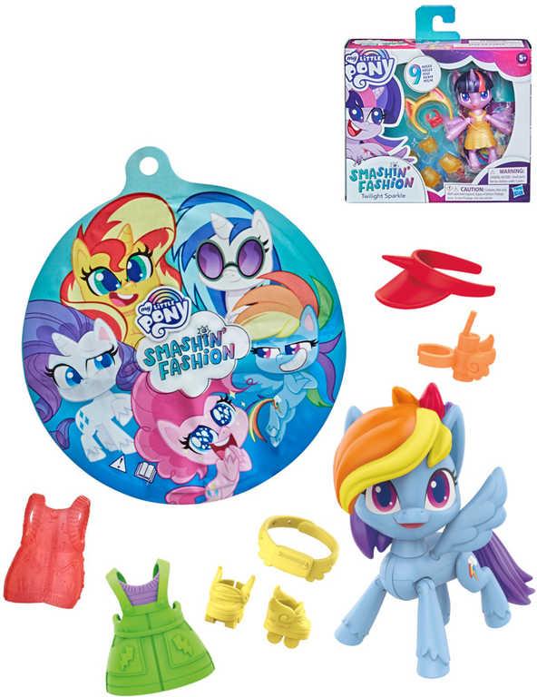 HASBRO MLP My Little Pony Módní párty set poník s oblečky a doplňky 3 druhy