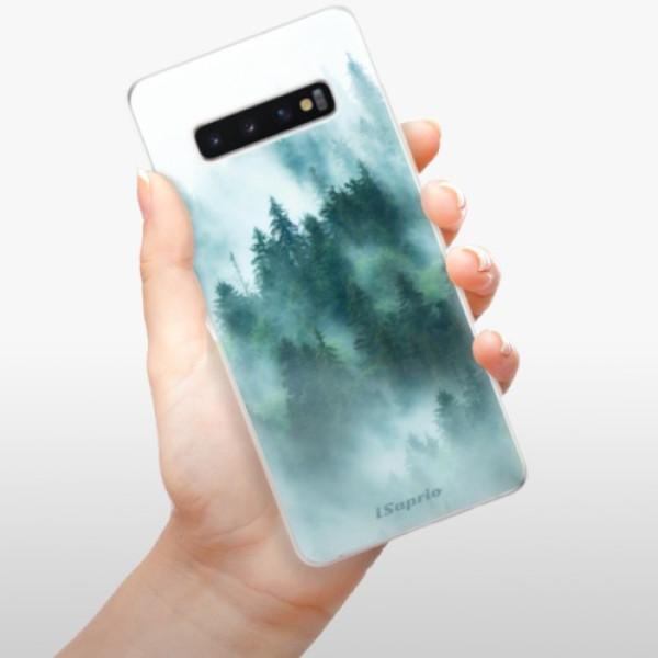 Odolné silikonové pouzdro iSaprio - Forrest 08 - Samsung Galaxy S10+