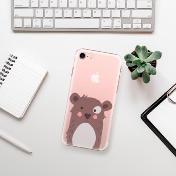 Plastové pouzdro iSaprio - Brown Bear - iPhone 7