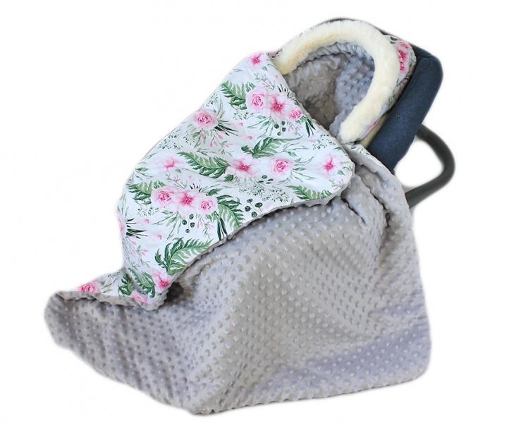 baby-nellys-bavlnena-oboustranna-decka-3v1-s-minky-a-kozesinkou-90x90-cm-kvetinky