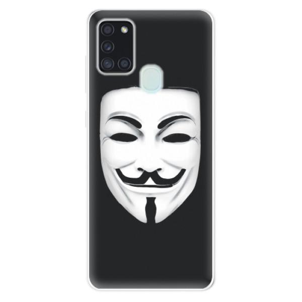 Odolné silikonové pouzdro iSaprio - Vendeta - Samsung Galaxy A21s