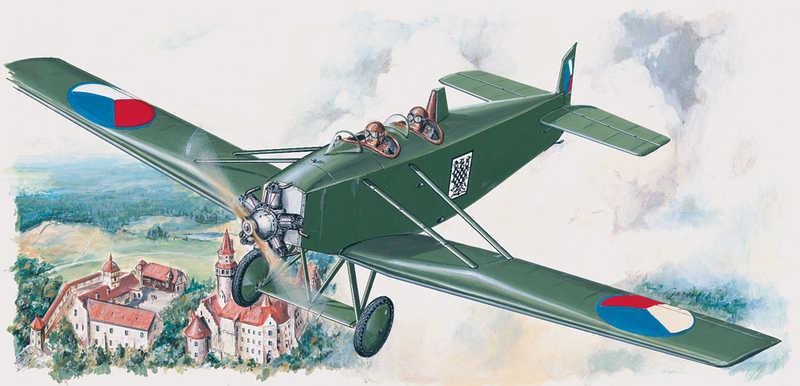 SMĚR Model letadlo Avia BH 11 1:48 (stavebnice letadla)