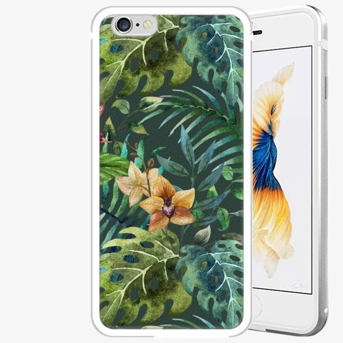 Plastový kryt iSaprio - Tropical Green 02 - iPhone 6 Plus/6S Plus - Silver