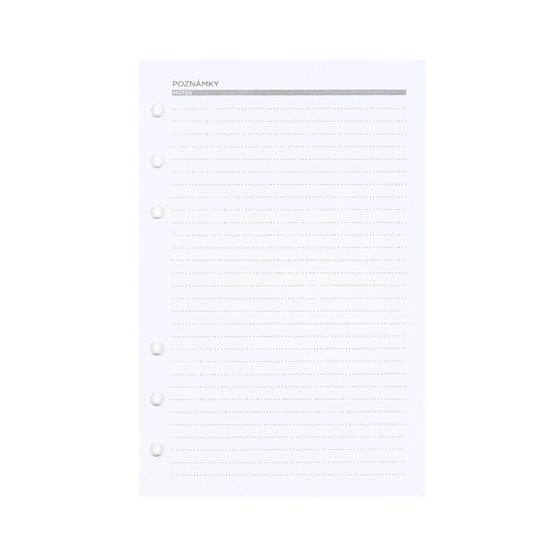 Linkované listy pro manažerský diář B6