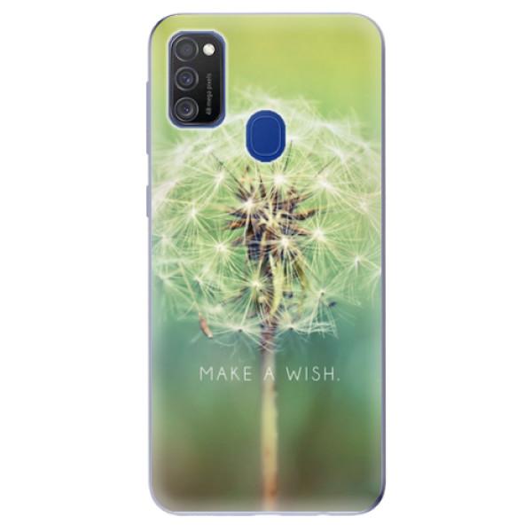 Odolné silikonové pouzdro iSaprio - Wish - Samsung Galaxy M21