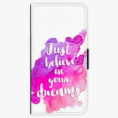 Flipové pouzdro iSaprio - Believe - Samsung Galaxy A3 2017