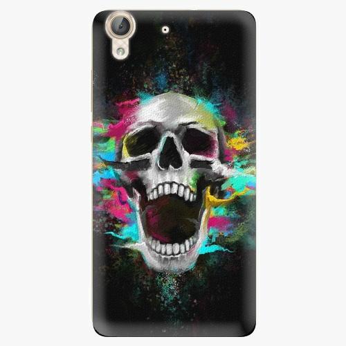 Plastový kryt iSaprio - Skull in Colors - Huawei Y6 II