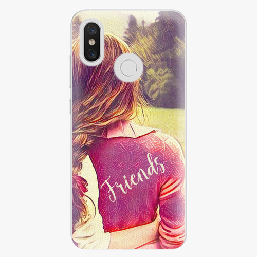 Plastový kryt iSaprio - BF Friends - Xiaomi Mi 8