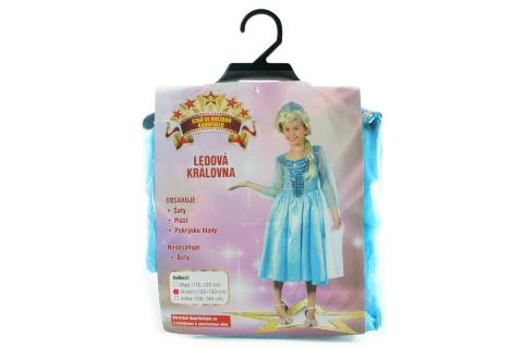 Šaty Ledová královna 120-130 cm
