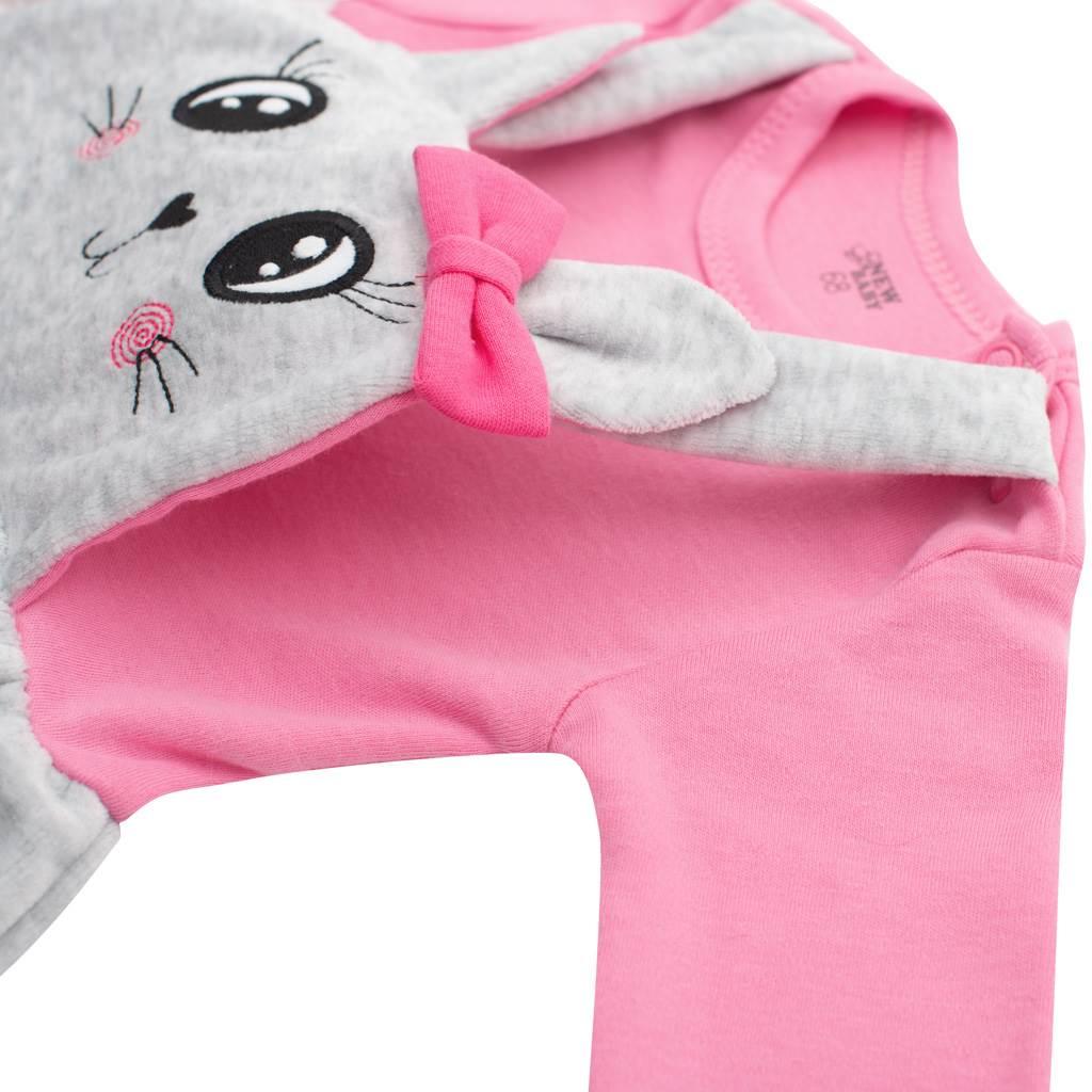 Kojenecké semiškové šatičky New Baby For Babies
