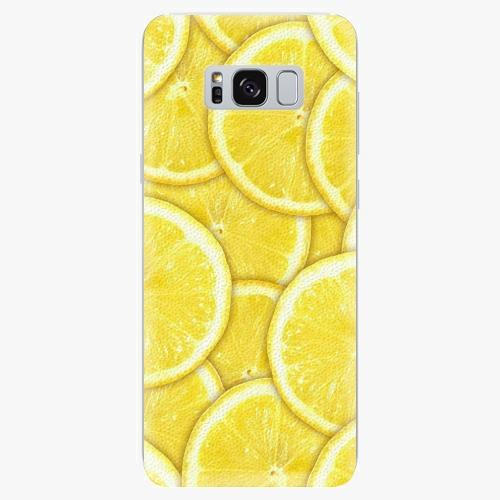 Silikonové pouzdro iSaprio - Yellow - Samsung Galaxy S8