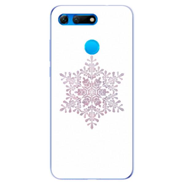 Odolné silikonové pouzdro iSaprio - Snow Flake - Huawei Honor View 20