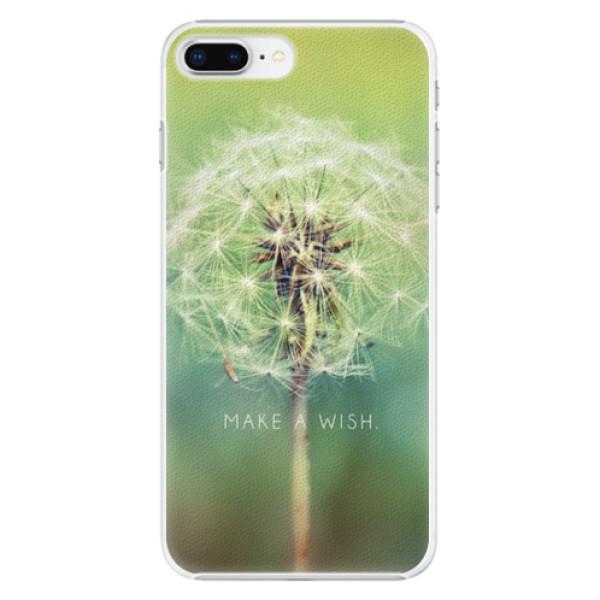 Plastové pouzdro iSaprio - Wish - iPhone 8 Plus