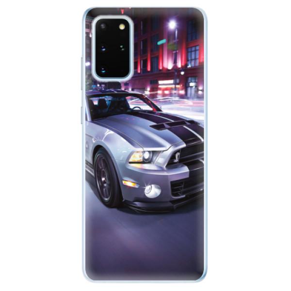 Odolné silikonové pouzdro iSaprio - Mustang - Samsung Galaxy S20+