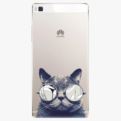 Plastový kryt iSaprio - Crazy Cat 01 - Huawei Ascend P8