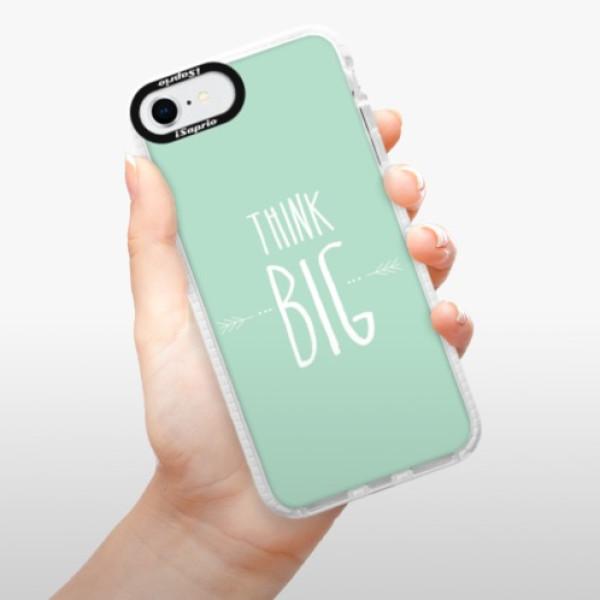 Silikonové pouzdro Bumper iSaprio - Think Big - iPhone SE 2020