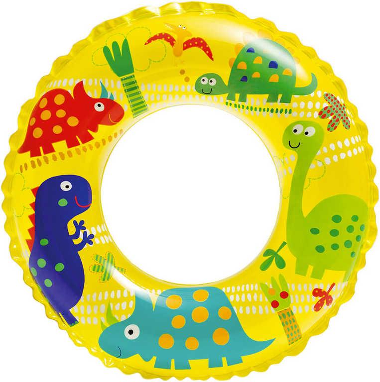INTEX Kruh dětský nafukovací 61cm mořský svět plavací kolo do vody 3 druhy 59242