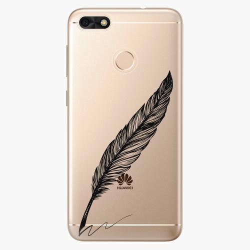 Plastový kryt iSaprio - Writing By Feather - black - Huawei P9 Lite Mini