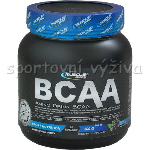 BCAA 4:1:1 amino drink - 500g-ruzovy-grep