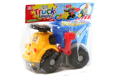 Nákladní auto s kostkami