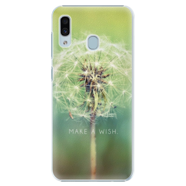 Plastové pouzdro iSaprio - Wish - Samsung Galaxy A20