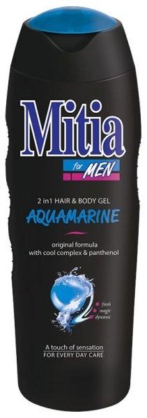 Men Aquamarine 2v1 sprchový gel a šampon na vlasy 400 ml
