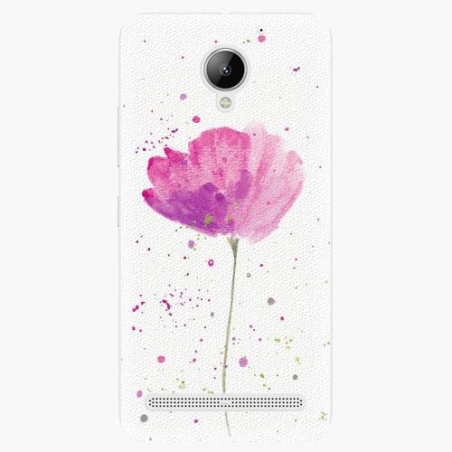 Plastový kryt iSaprio - Poppies - Lenovo C2