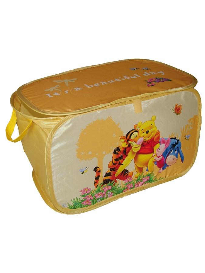 Praktický úložný box do dětského pokoje Disney Medvídek Pú - žlutá