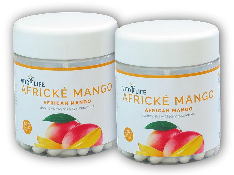 2x Africké mango 100 tablet