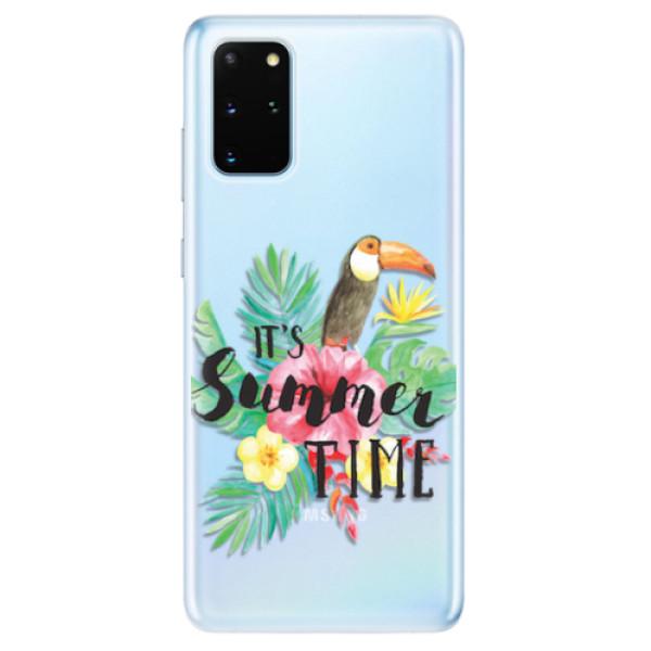 Odolné silikonové pouzdro iSaprio - Summer Time - Samsung Galaxy S20+