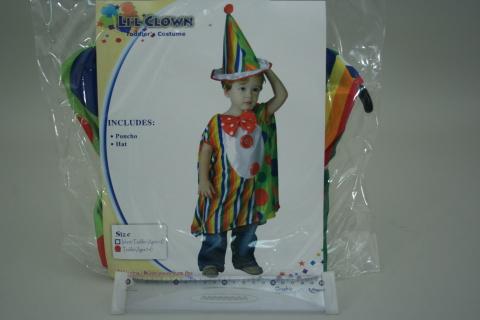 Šaty na karneval - Malý klaun, 92-104 cm