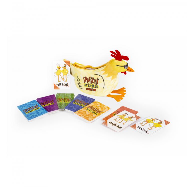 Splašený kuře