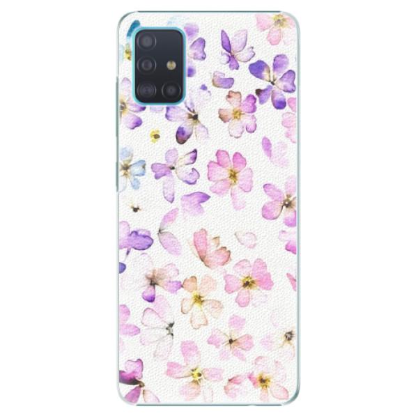 Plastové pouzdro iSaprio - Wildflowers - Samsung Galaxy A51
