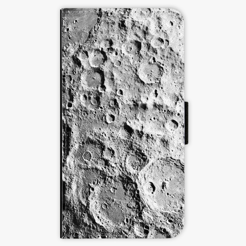 Flipové pouzdro iSaprio - Moon Surface - Samsung Galaxy S7