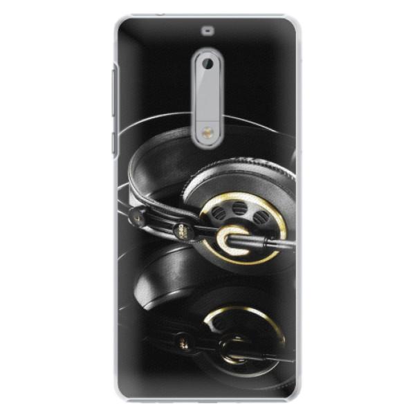 Plastové pouzdro iSaprio - Headphones 02 - Nokia 5