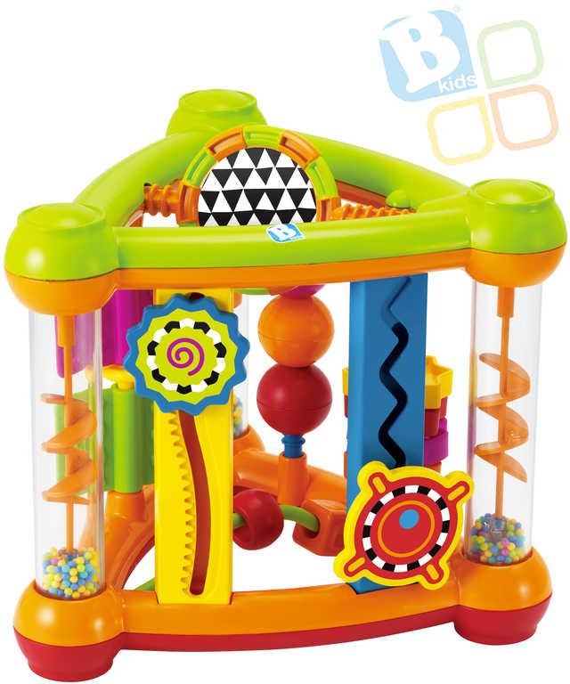 B-KIDS Baby hrací centrum aktivit chrastítko pro miminko plast