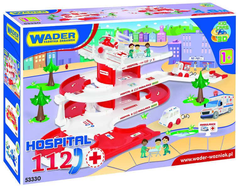 WADER Kid cars 3D Nemocnice