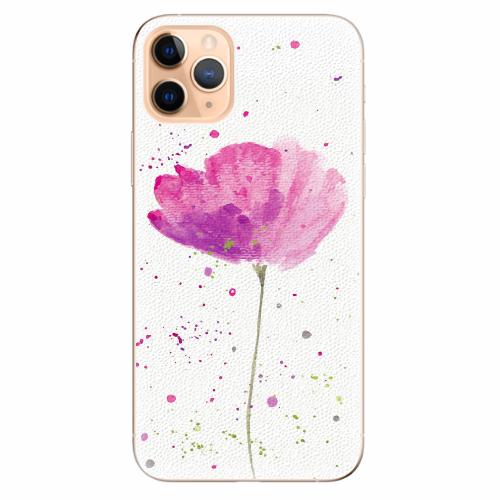 Silikonové pouzdro iSaprio - Poppies - iPhone 11 Pro Max