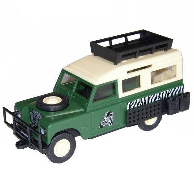 MONTI SYSTÉM 02 Auto Land Rover SAFARI stavebnice MS02 0101-2