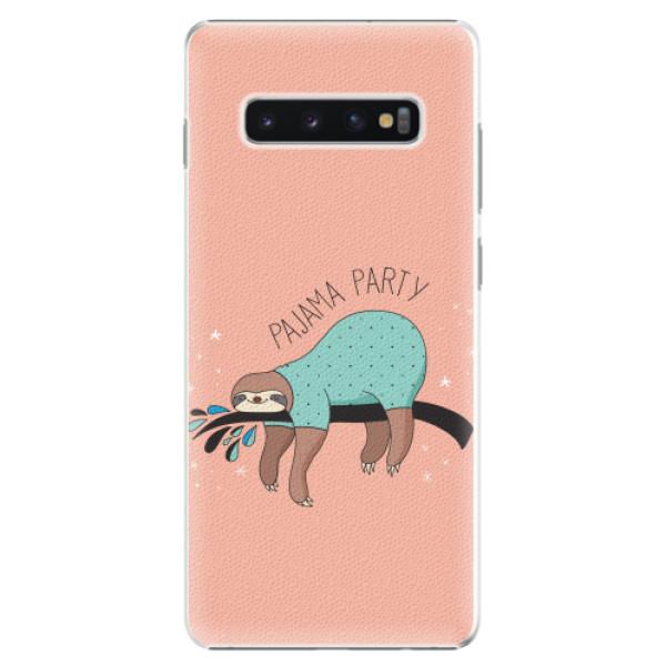 Plastové pouzdro iSaprio - Pajama Party - Samsung Galaxy S10+