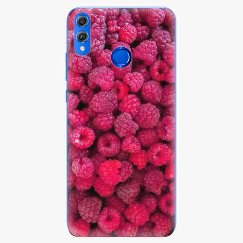 Silikonové pouzdro iSaprio - Raspberry - Huawei Honor 8X