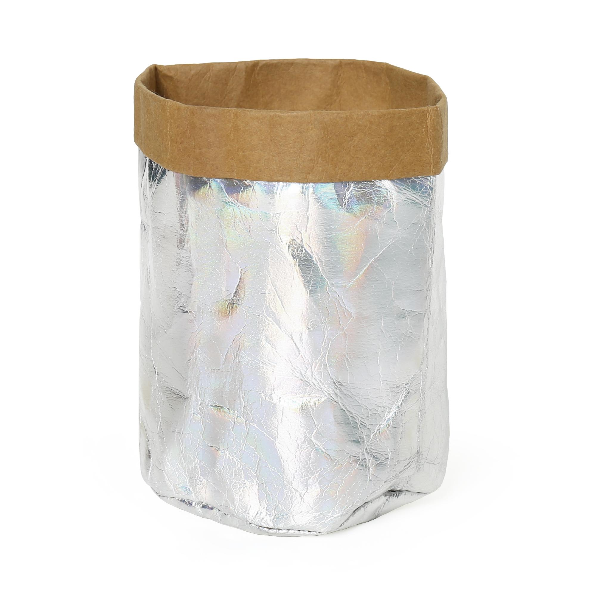 EKO stříbrný košík
